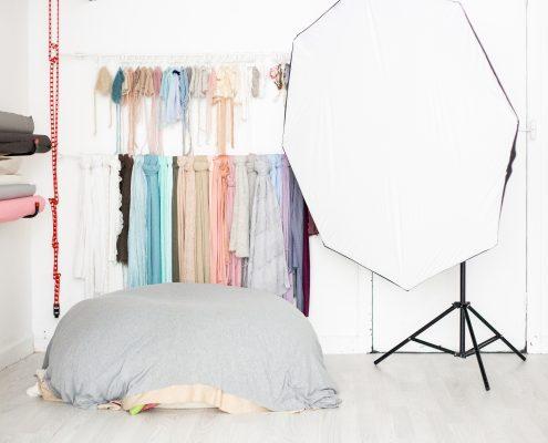Photo Studio Glasgow - newborn setup
