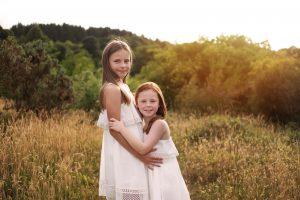 Family Photographer Glasgow - sisters