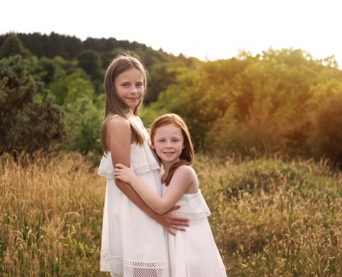 Family Photographer Glasgow - sisters